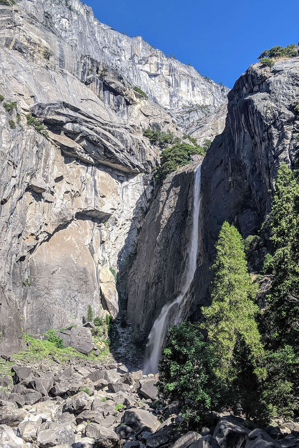 Yosemite Falls still going strong in August