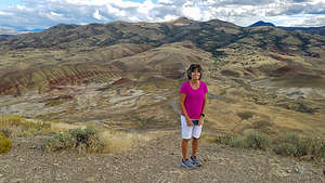Lolo hits John Day Fossil Beds (Painted Hills)