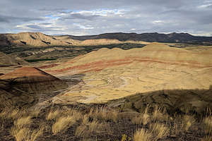 View from the Painted Hills Overlook