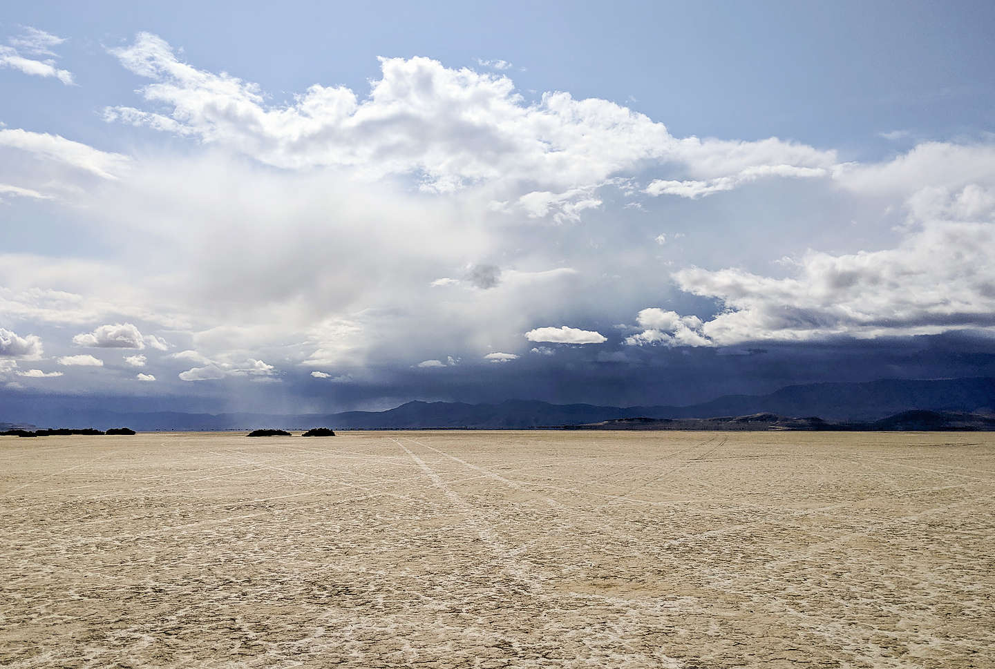 Storm's a brewing on the playa