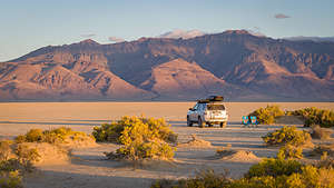 Our home for the night on the Alvord Desert