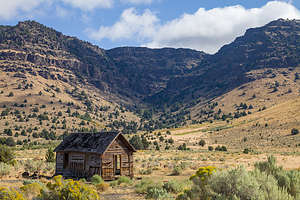 Along the Steens Mountain Scenic Byway