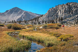 Further along the Cottonwood Lakes Trail