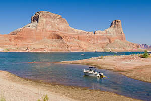 Gunsight Canyon campsite