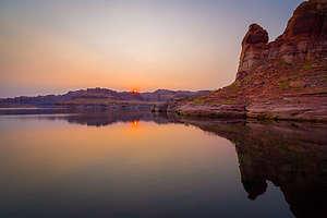 Sunrise by Chuckwalla Springs