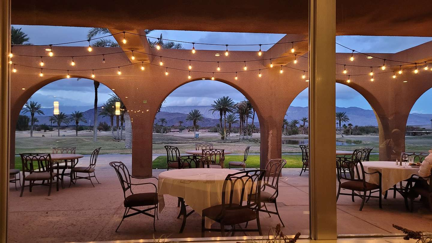 Borrego Springs Resort and Spa dining room