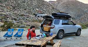 Camping in Sheep Canyon