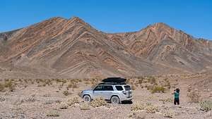 Along the Harry Wade Road to Ibex Dunes