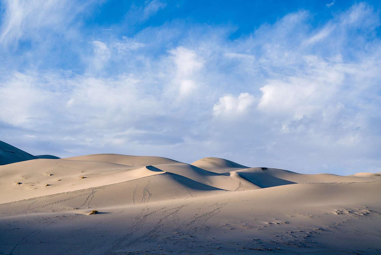 Eureka Dunes in morning light