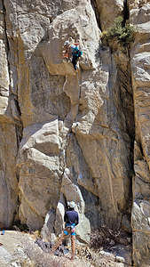 Celeste sport climbing in Pine Creek