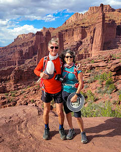 Along the Fisher Towers hike