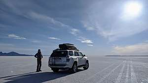 Morning on the Bonneville Speedway