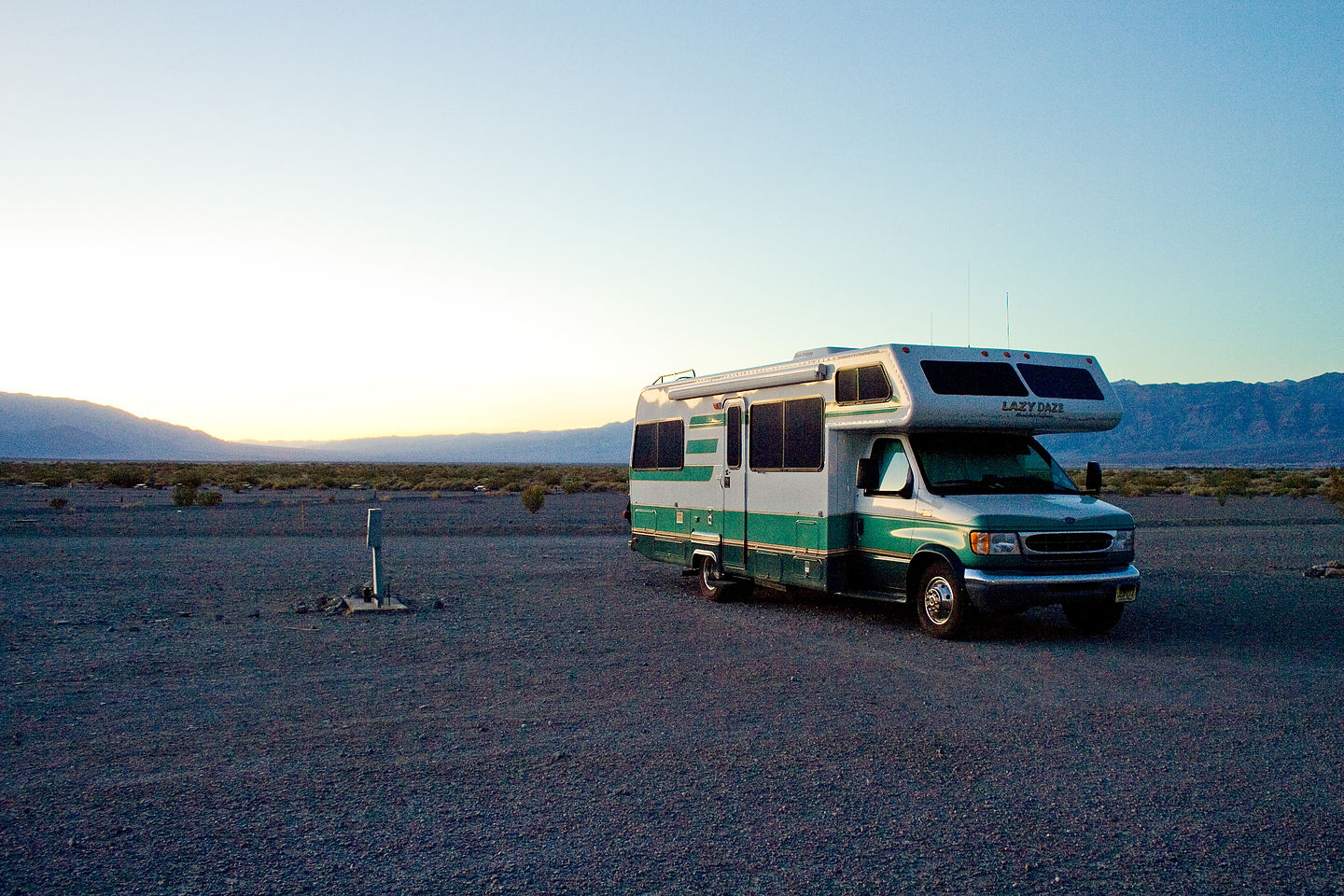Lazy Daze at Stovepipe Wells Campground - AJG