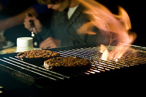 Burgers on Weber with Tom - AJG
