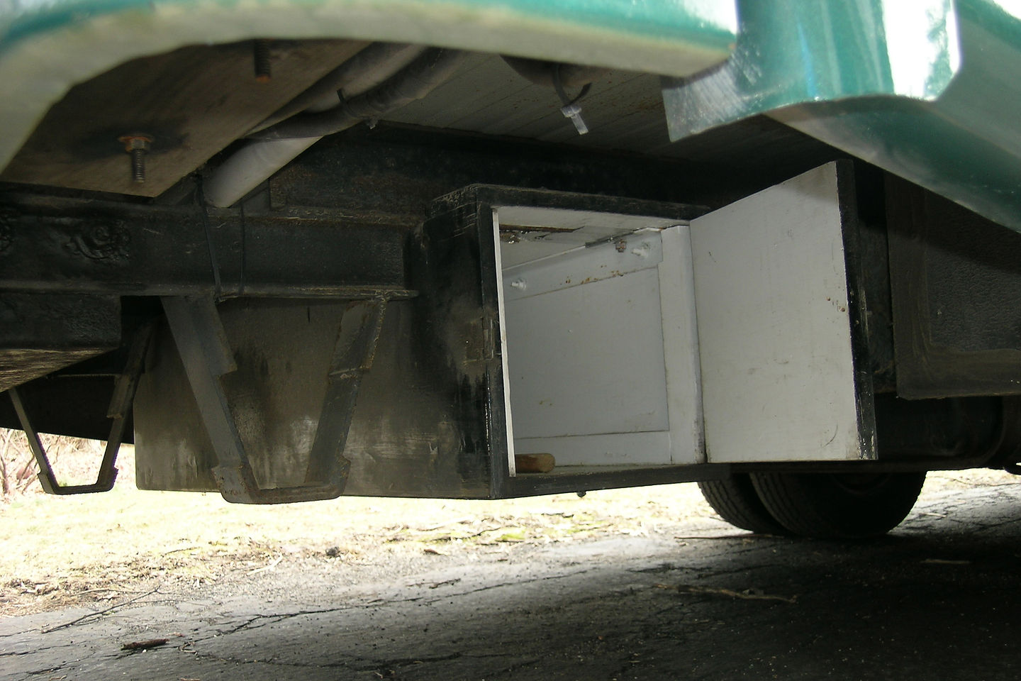 RV shed for gas
