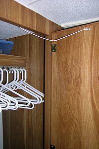 Closet door limiters
