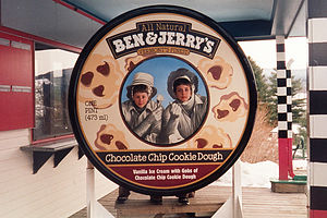 Boys at Ben & Jerry's