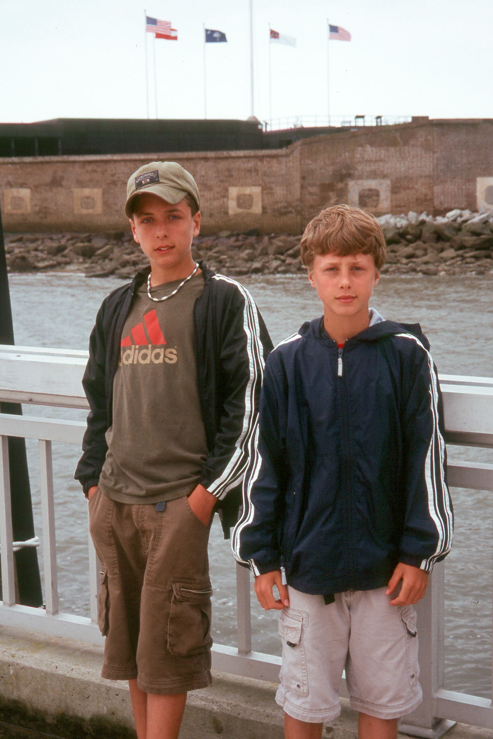Boys at Fort Sumpter